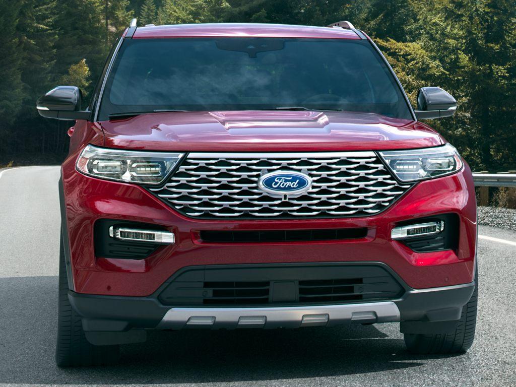 Thiết kế đầu xe của Ford Explorer 2021