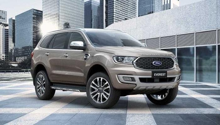 Ford Everest 2021 là mẫu xe hiện đại bậc nhất trong phân khúc SUV ở Việt Nam