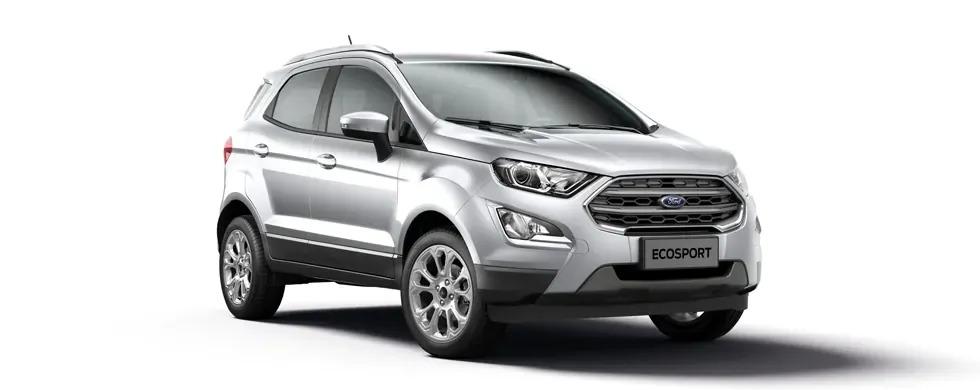 Ford Ecosport 2021 màu bạc ánh kim