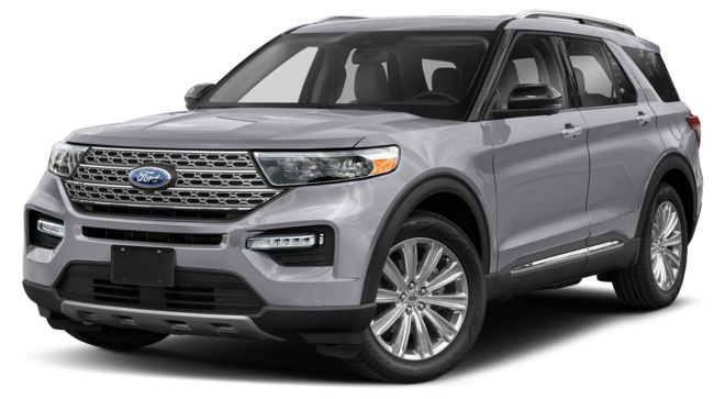 Ford Explorer 2021 màu Iconic Silver Metallic