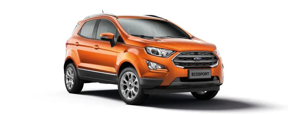 Ford Ecosport 2021 màu cam