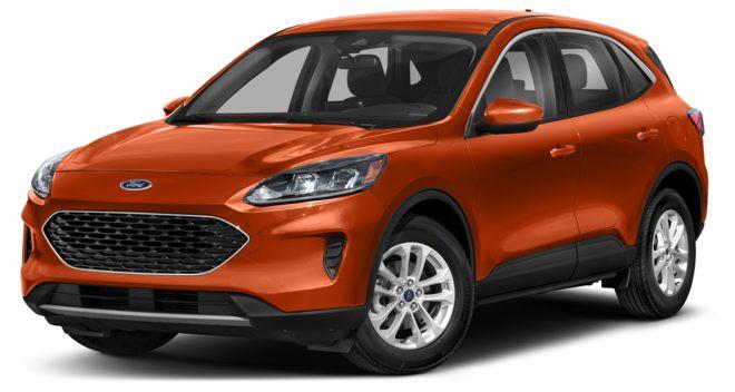 Ford Escape 2021 màu cam