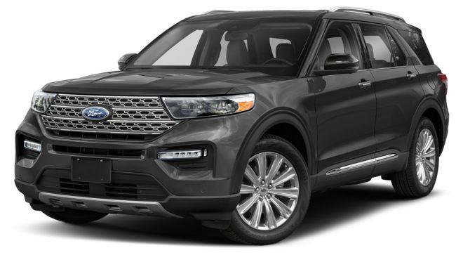 Ford Explorer 2021 màu Carbonized Gray Metallic