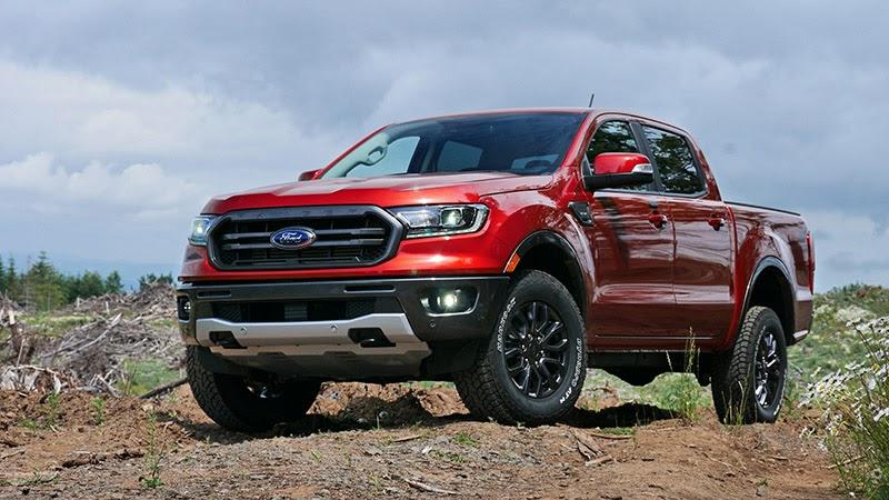 Ford Ranger 2021 màu đỏ