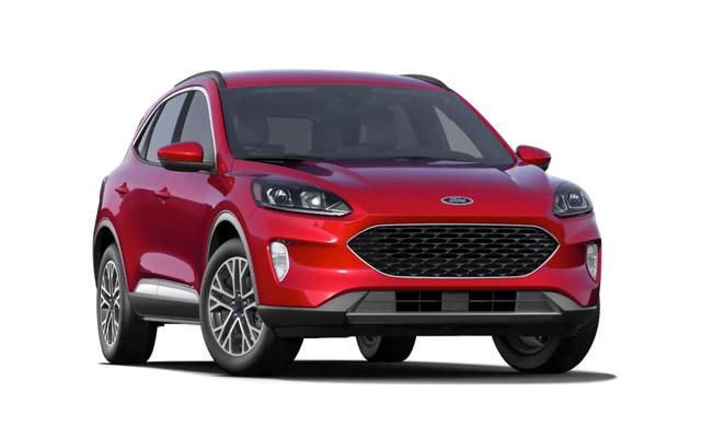 Ford Escape 2021 màu đỏ