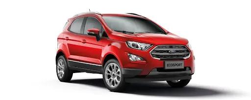 Ford Ecosport 2021 màu đỏ ngọc ruby