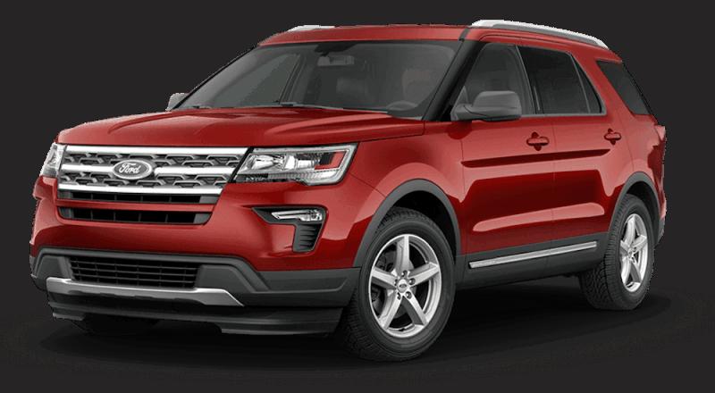 Ford Explorer 2021 màu đỏ