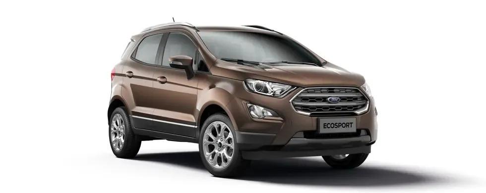 Ford Ecosport 2021 màu nâu hổ phách
