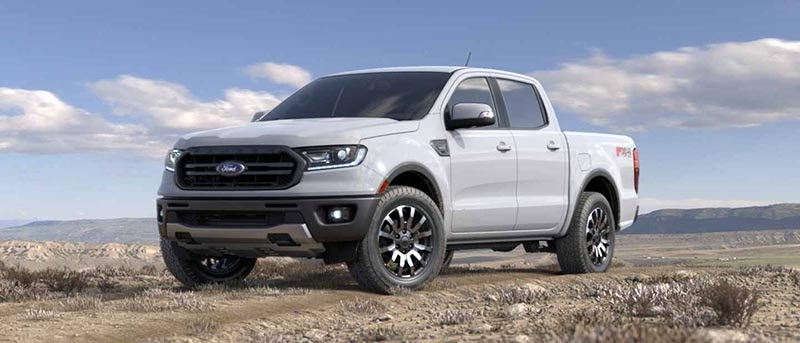 Ford Ranger 2021 màu trắng