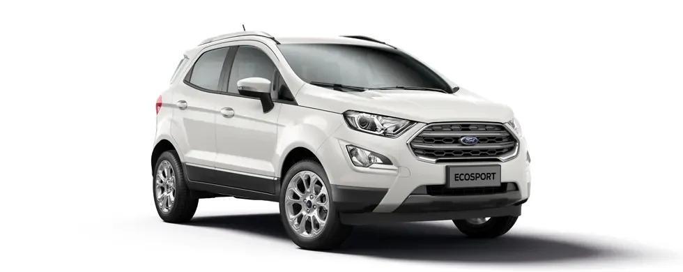 Ford Ecosport 2021 màu trắng kim cương