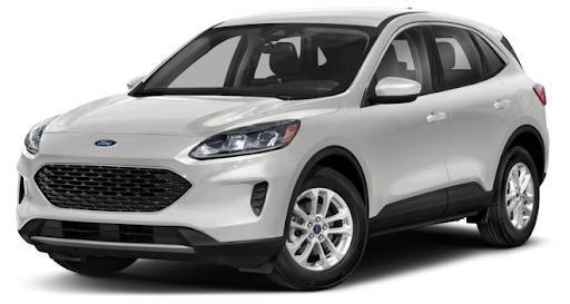 Ford Escape 2021 màu trắng