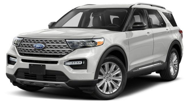 Ford Explorer 2021 màu Oxford White