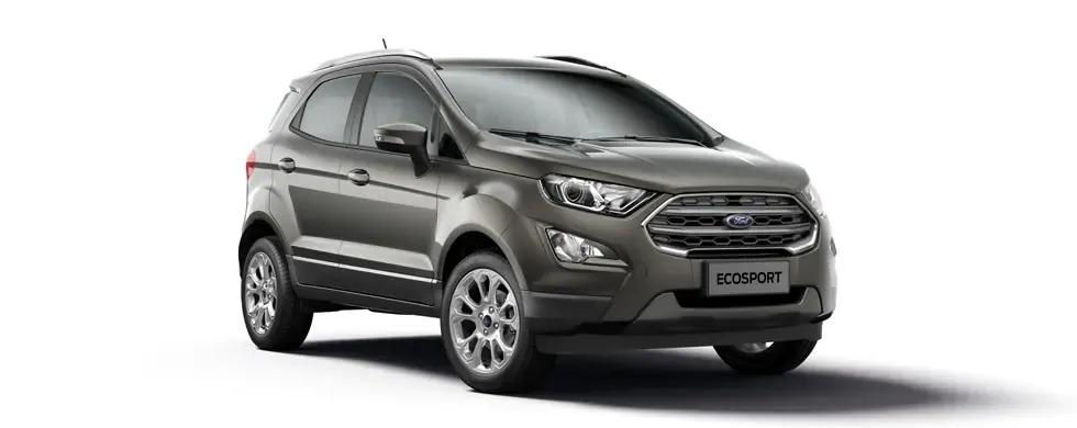Ford Ecosport 2021 màu ghi ánh thép