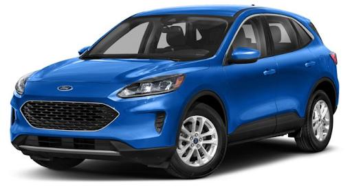 Ford Escape 2021 màu xanh dương