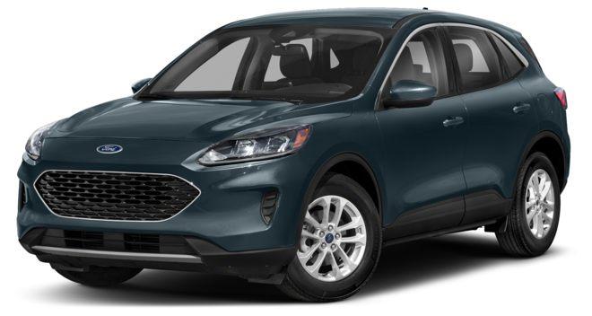 Ford Escape 2021 màu xanh lục