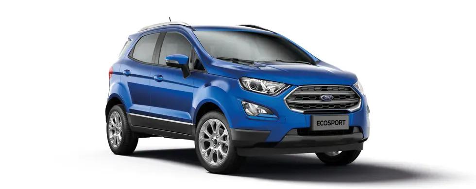 Ford Ecosport 2021 màu xanh dương