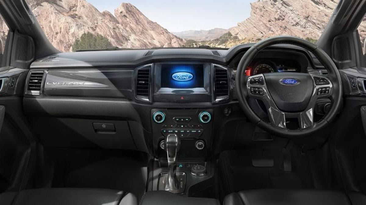 Ford Everest 2021 được trang bị tiện nghi hiện đại bậc nhất