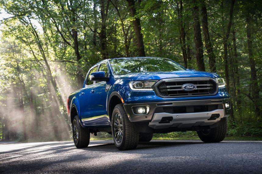 Ford Ranger năm 2021 sở hữu nhiều nâng cấp vượt trội so với các đối thủ