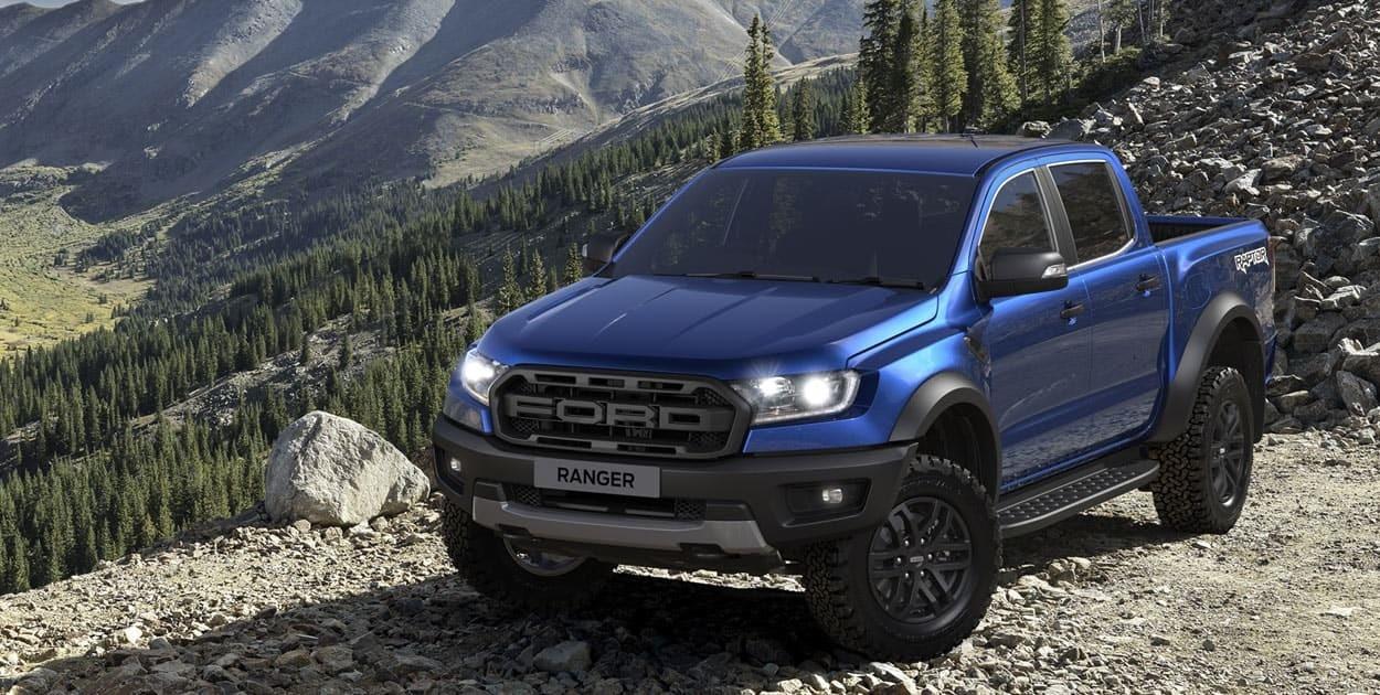 Ford Ranger Raptor 2021 sở hữu diện mạo hầm hố và mạnh mẽ