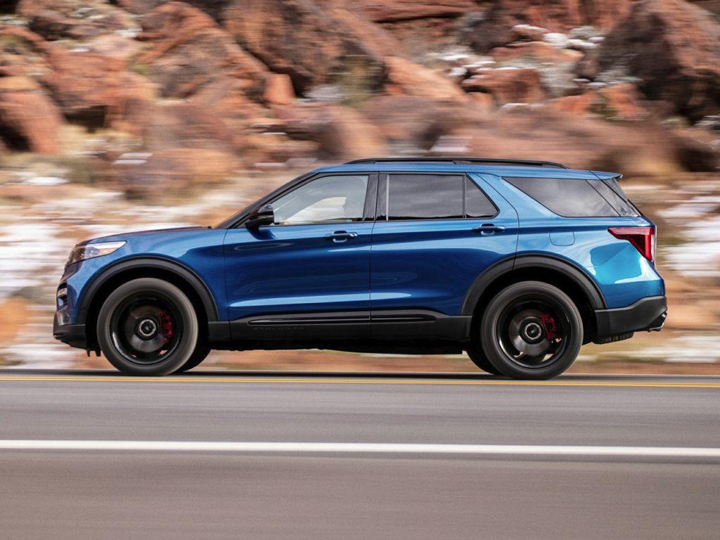 Thiết kế thân xe của Ford Explorer 2021