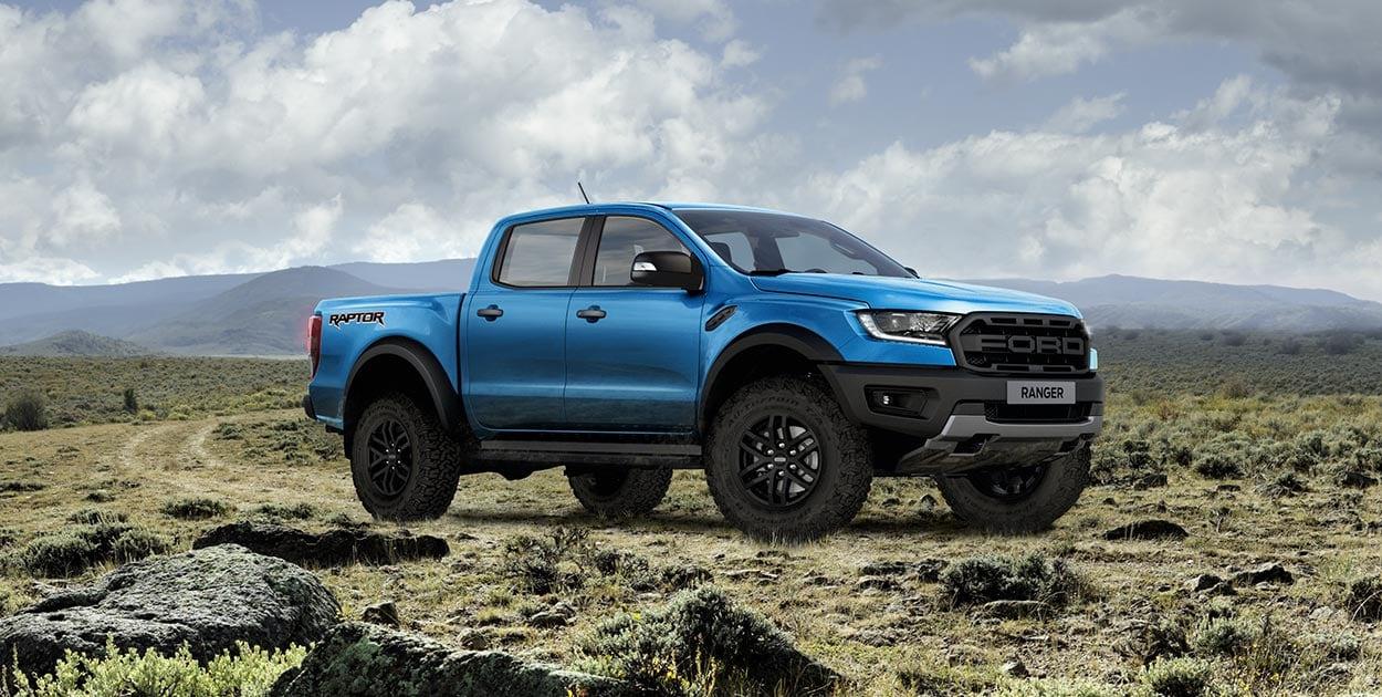Nổi bật với đường gân dập nổi trên thân xe Ford Ranger 2021