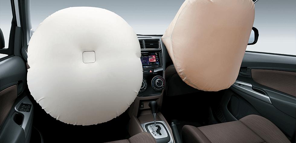 2 Túi khí dành cho tài xế và hành khách ngồi trước