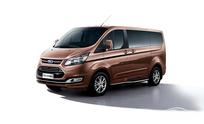 Ford Tourneo màu Nâu Ánh Kim