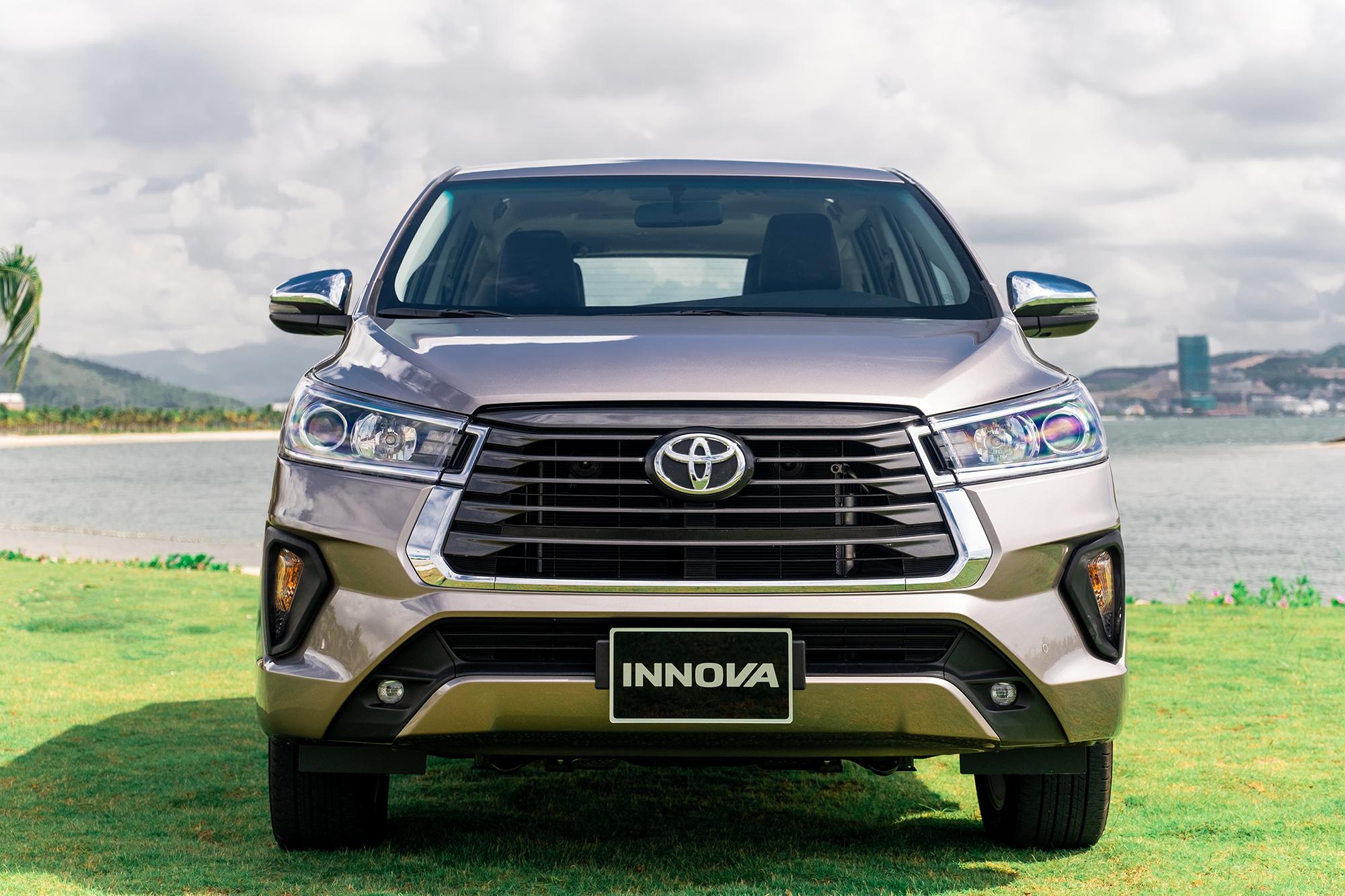 Toyota Innova 2021mang trong mình nhiều trang bị an toàn đạt tiêu chuẩn
