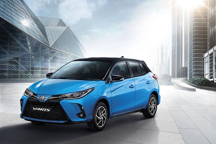 Toyota Yaris 2021 phiên bản nâng cấp giữa dòng đời