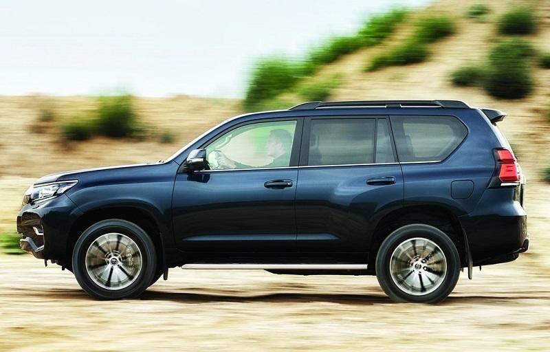 Toyota Land Cruiser 2021 mang lại cảm giác lái ấn tượng