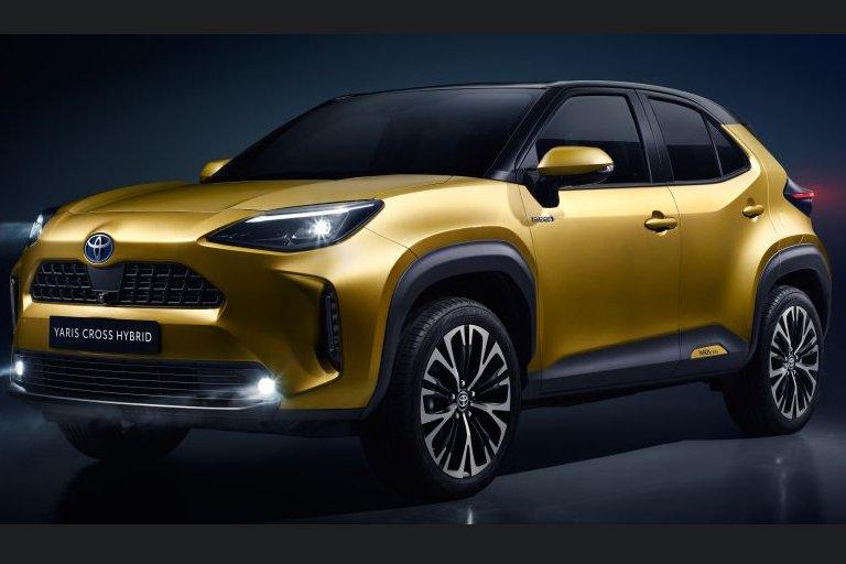 Đầu xe Toyota Yaris 2021 không có nhiều thay đổi so với bản tiền nhiệm