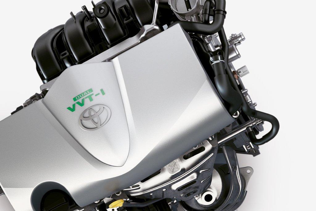 Động cơ có 2 tùy chọn 1.3L và 1.5L