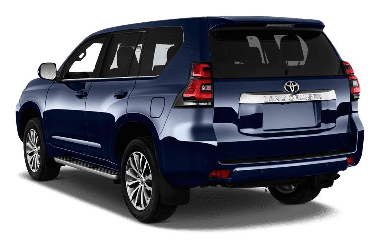 Đuôi xe Toyota Land Cruiser 2021