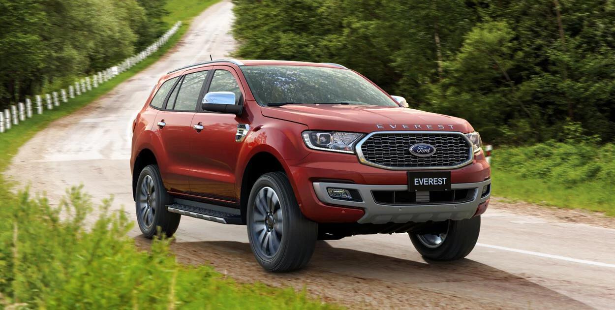 Ford Everest có đến 5 phiên bản