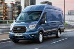 """Ford Transit 2021 """"hút mắt"""" ngay từ mẫu mã bề ngoài."""
