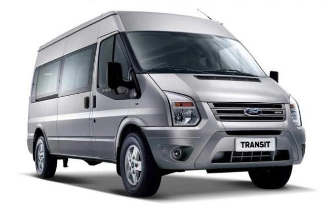 Ford Transit 2021 màu bạc