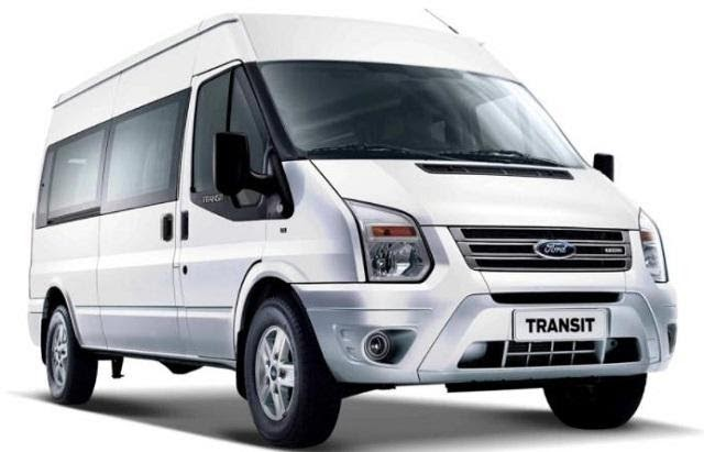 Ford Transit 2021 màu trắng