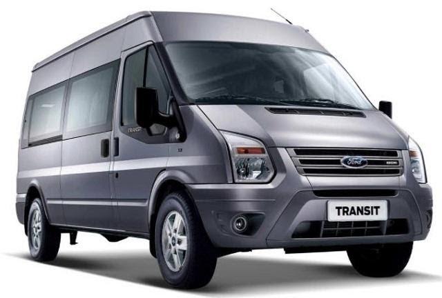 Ford Transit 2021 màu xám