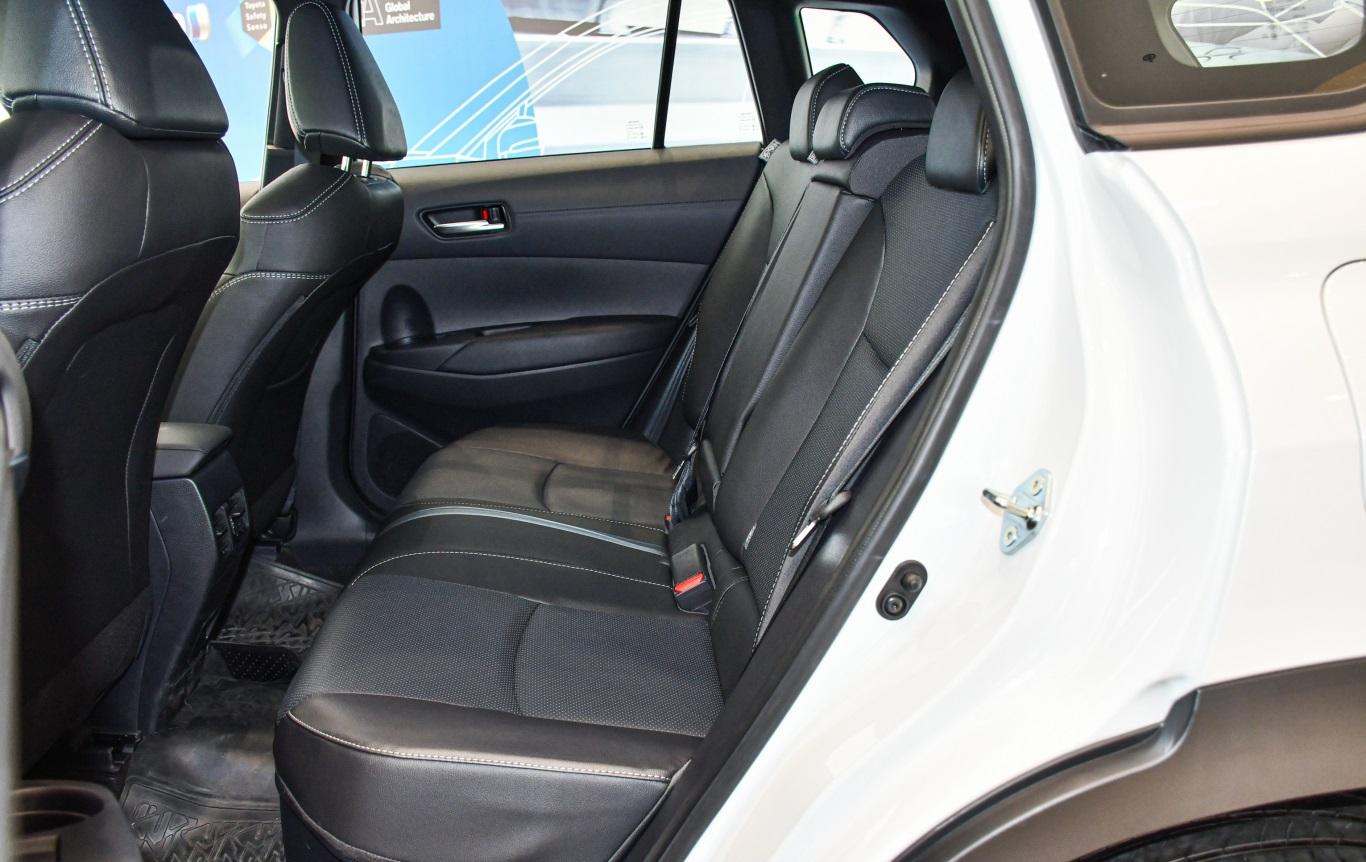 Hệ thống ghế ngồi của Toyota Corolla Cross 2021 được đánh giá cao