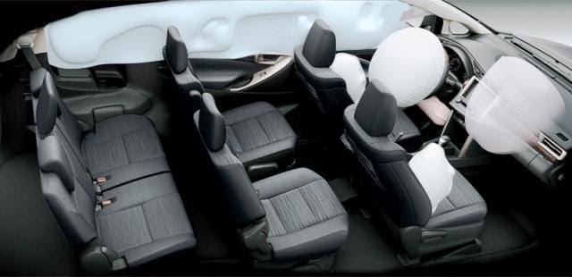 Toyota Fortuner 2021 có hệ thống ghế ngồi rộng rãi, tiện nghi