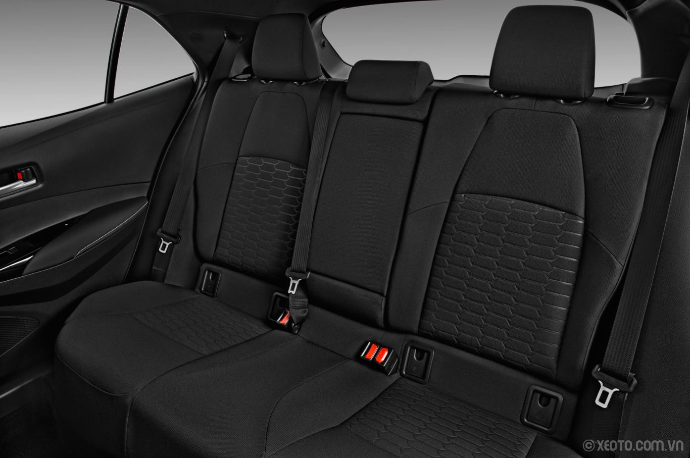 Toyota Yaris 2021 sở hữu hệ thống ghế ngồi êm ái
