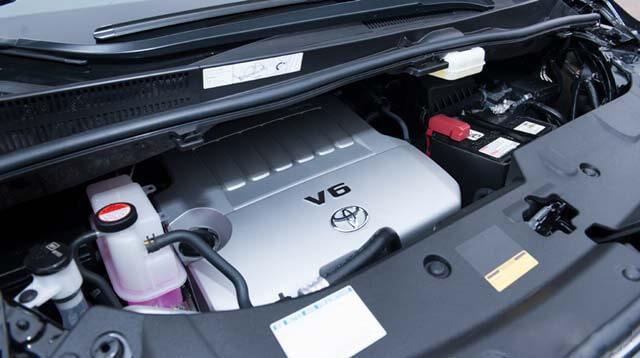 khối động cơ V6 2GR – FE với dung tích 3.6L, 6 xi – lanh dạng chữ V 24 van