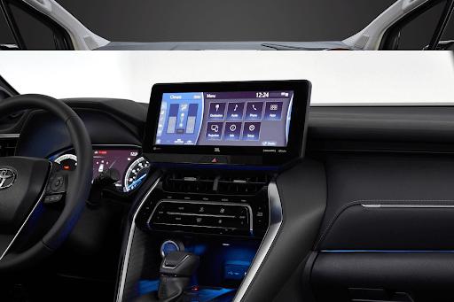 Nội thất Toyota Granvia 2021 được trang bị đẳng cấp.