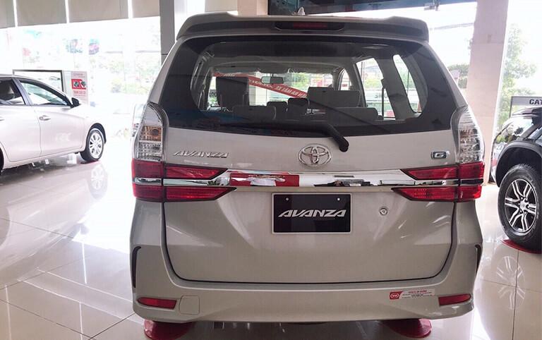 Thiết kế phần đuôi xe Avanza được thay đổi hoàn toàn mới