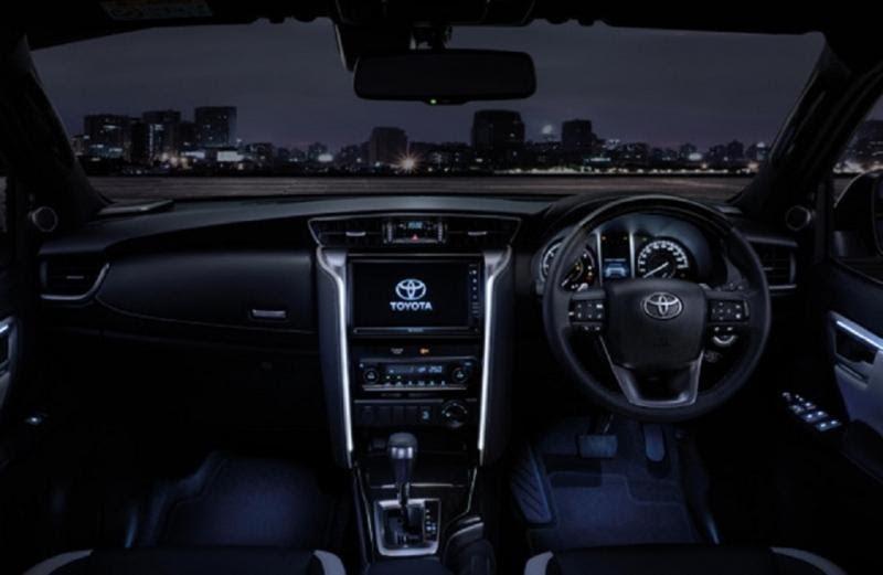 Hệ thống tiện nghi của Toyota Fortuner 2021 vô cùng đa dạng