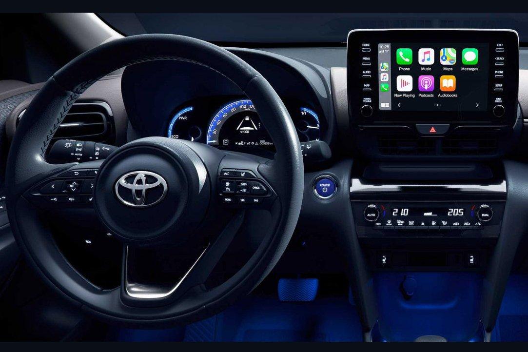 Toyota Yaris 2021 có nhiều tiện nghi nổi bật trong tầm giá