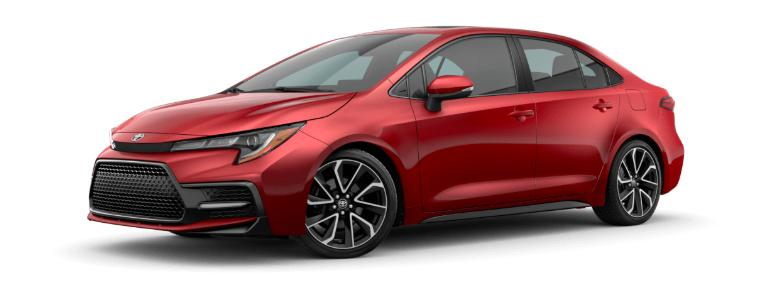 Toyota Corolla Altis 2021 màu đỏ