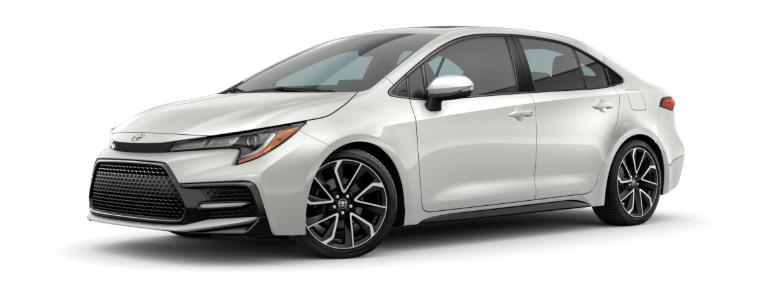 Toyota Corolla Altis 2021 màu trắng ngọc trai