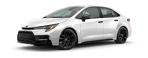Toyota Corolla Altis 2021 màu trắng