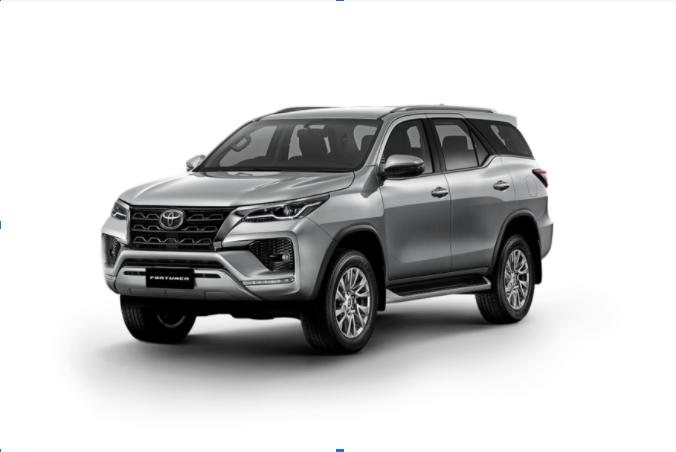 Toyota Fortuner 2021 màu Bạc
